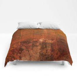 Organic rust Comforters