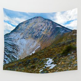 Pyramid Mountain Summit Hike in Jasper National Park, Canada Wall Tapestry