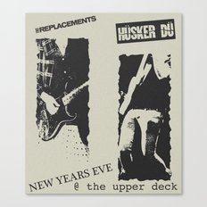 New Year's Eve @ The Upper Deck Canvas Print