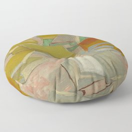 "Vincent Van Gogh "" Piles of French novels"" Floor Pillow"
