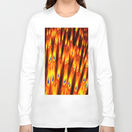 firebodies with blue eyes Long Sleeve T-shirt