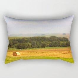 Miniature Countryside Rectangular Pillow