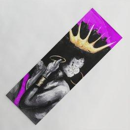 Naturally Queen VI PINK Yoga Mat