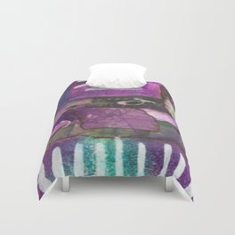 Purple Visions #1 Duvet Cover