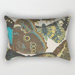 E.A.Séguy - Papillons / Butterflies (1925) Plate 2 Rectangular Pillow