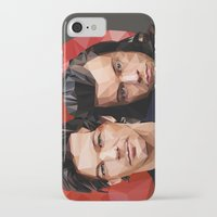 larry iPhone & iPod Cases featuring Polygonal Larry by Peek At My Dreams