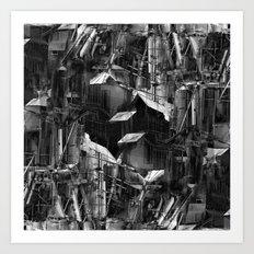 Post-Modern Industrial Complex:  The Art of Regressing Art Print