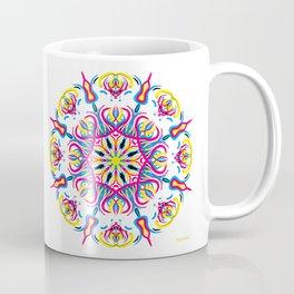 """""""CMYK in bloom"""" Coffee Mug"""