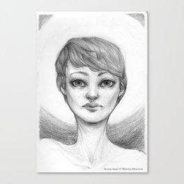 Seeing Angel Canvas Print