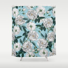 TROPICAL PATTERN-10 Shower Curtain