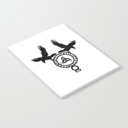 Raven - Triple Horn of Odin Notebook