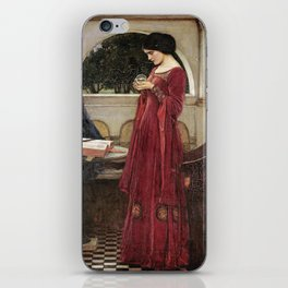 John William Waterhouse - The crystal ball iPhone Skin