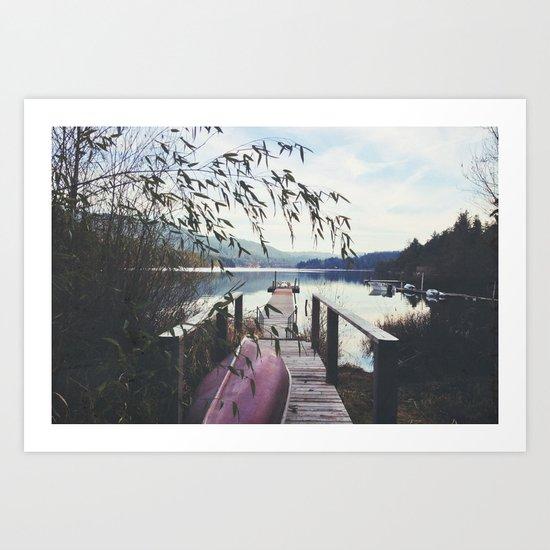 Dock 2 Art Print
