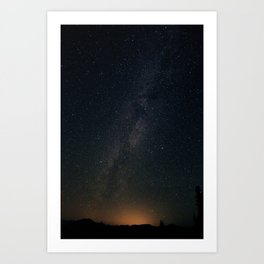 Milky Way from Blackwall Peak (Manning Park) Art Print