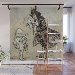 "Arthur Rackham Fairy Art from ""The Little White Bird"" Wall Mural"
