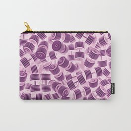 Dumbbell Camo PINK Carry-All Pouch