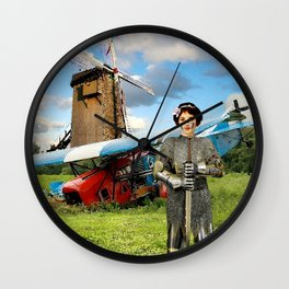 Your Honor – Dulcinea Wall Clock