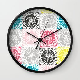 pave the day Wall Clock