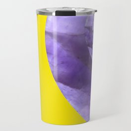 Yellow Mystical Powers of Amethyst #society6 Travel Mug