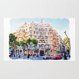 La Pedrera Barcelona Rug