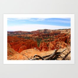 Sunset Point At  Bryce Canyon Art Print