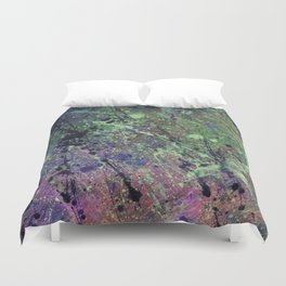 Splatter No.1 Duvet Cover