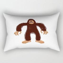 Angry bigfoot Rectangular Pillow