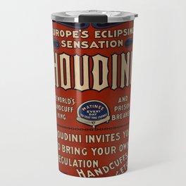 Poster Harry Houdini Travel Mug