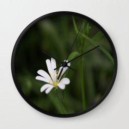 Beauty In It's Place Wall Clock