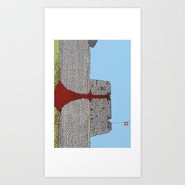 *DFTMNCB castle* Art Print