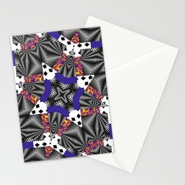 Mashed-up Print Stationery Cards