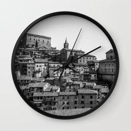 Soriano nel Cimino (Italy) - Orsini Castle Wall Clock