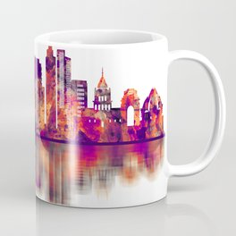 Delhi India Skyline Coffee Mug