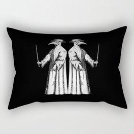 Plague Doctor International Pandemic plague mask Rectangular Pillow
