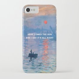 Here Comes the Impression, Sunrise iPhone Case