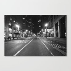 Fire Lane/ Bus Only Canvas Print
