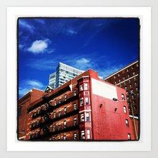 Milner Hotel, Boston, Massachusetts Art Print
