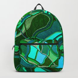 Abstract #8 - V - Jungle Book Backpack