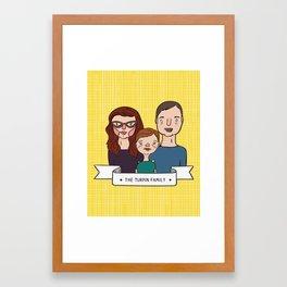 The Turpin Family Portrait Framed Art Print