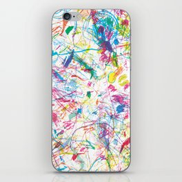 Colorful happiness iPhone Skin