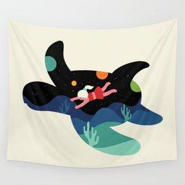 Ocean Roaming Wall Tapestry