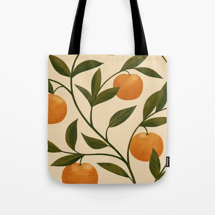 Lucky Tangerines Tote Bag