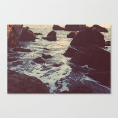 The Sun & The Sea III Canvas Print
