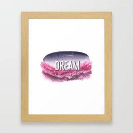 Dream - Print Framed Art Print