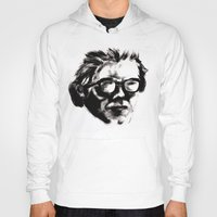 beethoven Hoodies featuring Hipster Beethoven by Hurtin Albertan