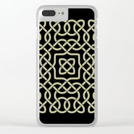 Celtic ornament Clear iPhone Case