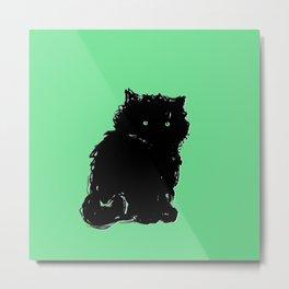 Kitten Print 2 Metal Print