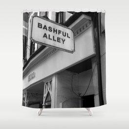 Bashful Alley Shower Curtain