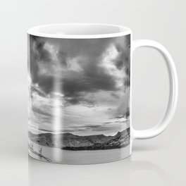 Lyttelton Harbour Skies Coffee Mug