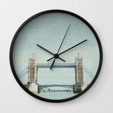 Letters From the Tower Bridge - London Wall Clock